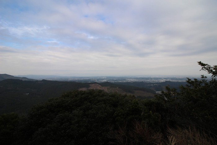 岩からの景色