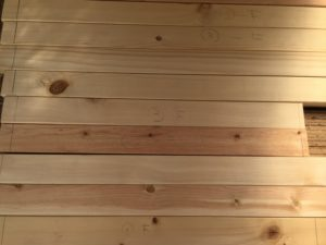 枠用の木材