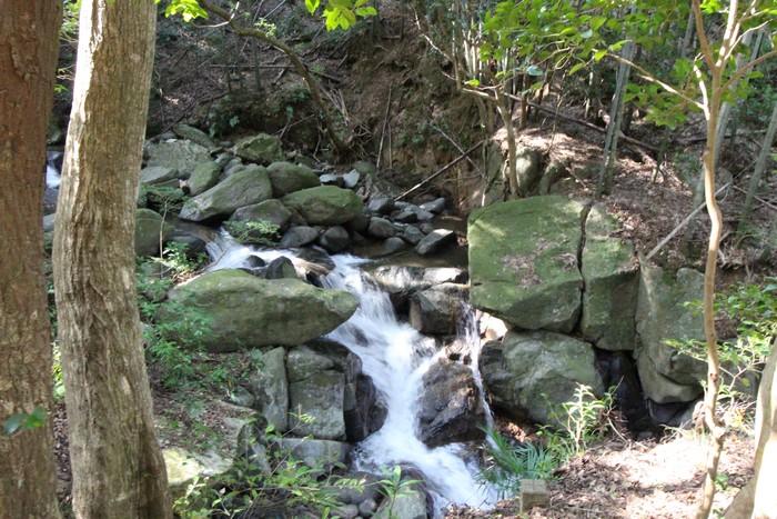 二丈渓谷 滝