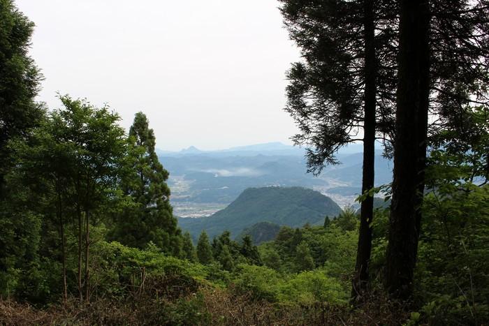 御花畑 登山道 景色