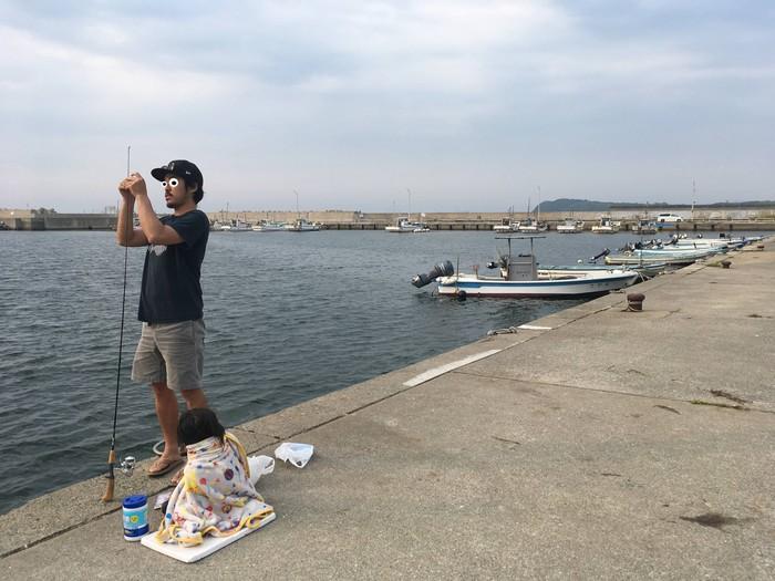 奈多漁港 釣り