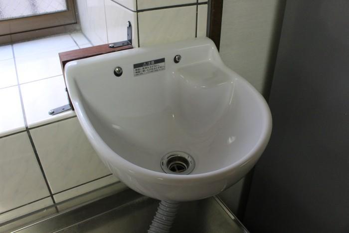 手洗い器 取り付け