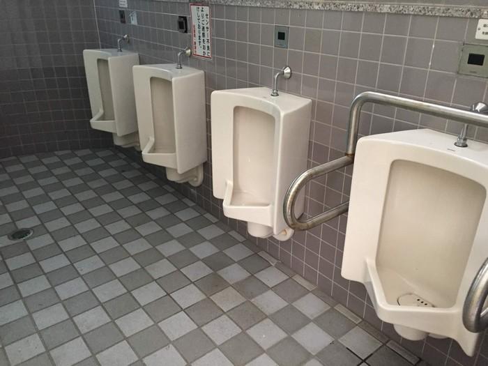 七ツ釜 トイレ