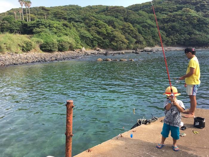 七ツ釜 釣り