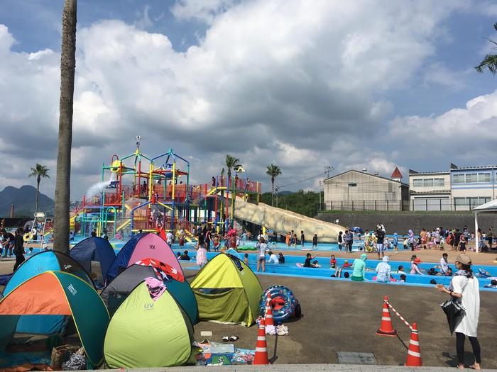 田川市市民プール