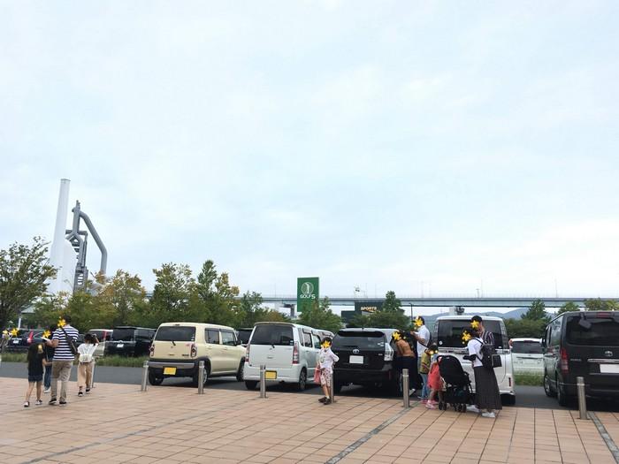 いのちのたび駐車場