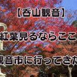 【紅葉が見たいならここに行くべし!】篠栗にある「呑山観音」がオススメ!蚤の市もやってるよ