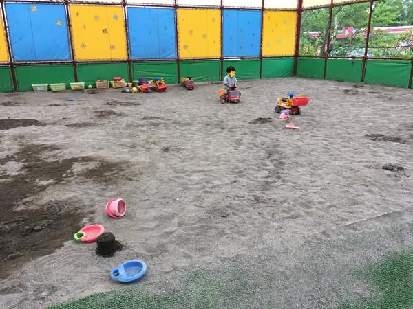 城島 砂場