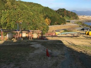 筑紫野市総合公園 滑り台
