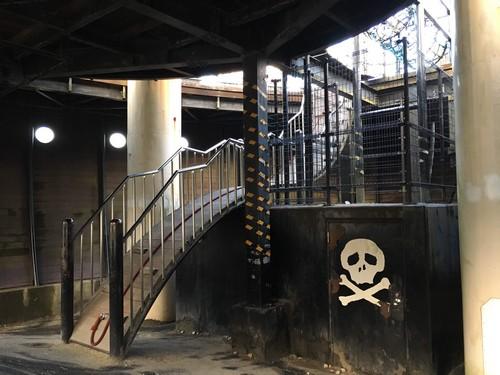 筑紫野市総合公園 海賊船 内部