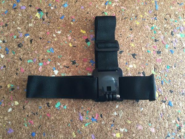 アクションカメラ用のマウントセット