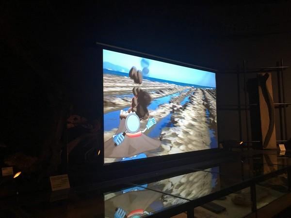 博物館 映像