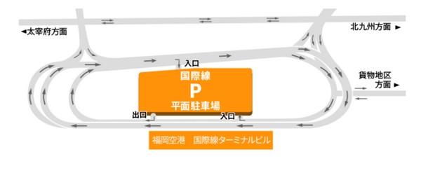 福岡空港 国際線 駐車場
