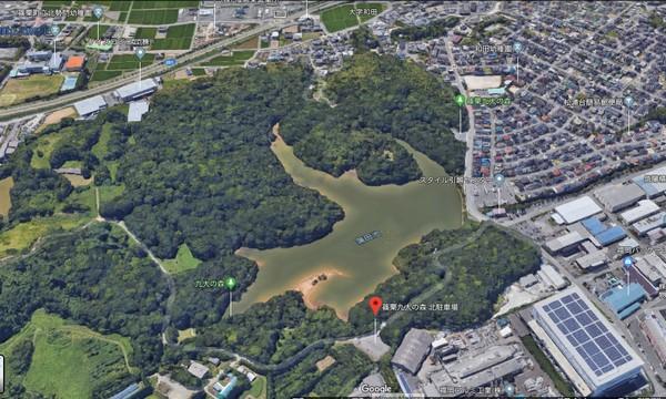 篠栗九大の森 グーグルマップ