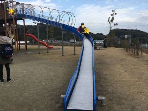 上原田公園 滑り台