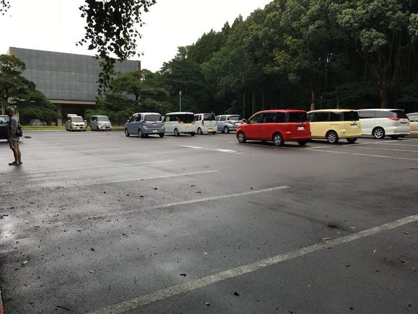 博物館 駐車場