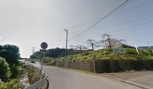 上原田公園 入口近く