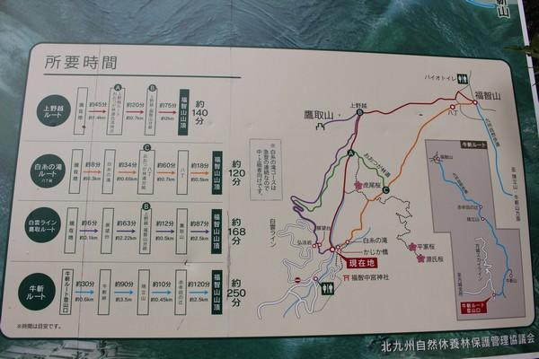 福地山 登山ルート