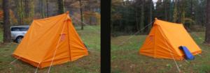 レトロ テント