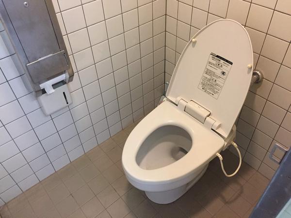 ひなもりオートキャンプ場 トイレ