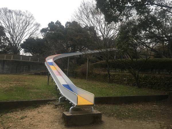 吉井百年公園 ローラー滑り台
