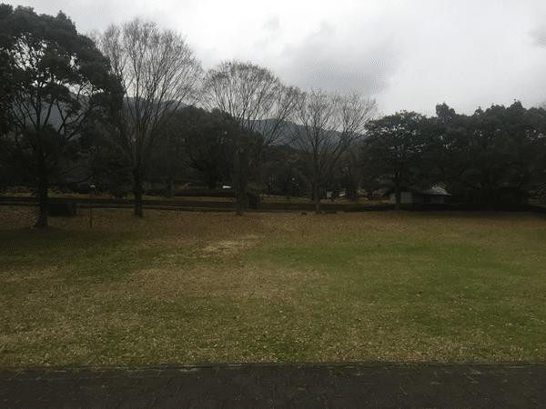 吉井百年公園 ステージからの眺め