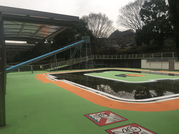 吉井百年公園 プール