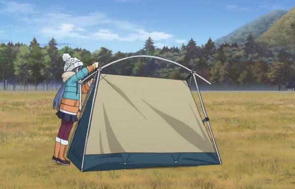 ゆるキャン△ テント