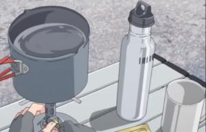ゆるキャン△ 水筒 コップ