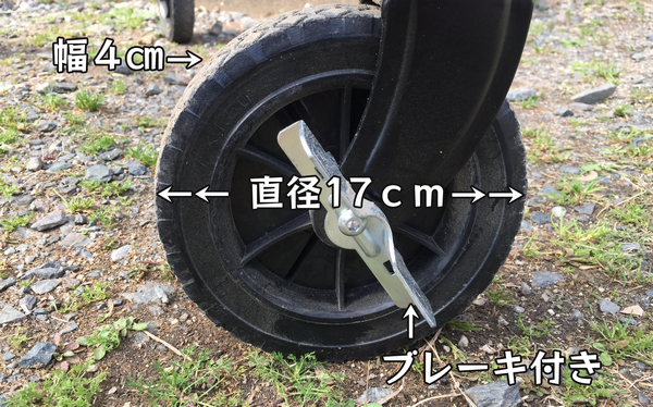 DOD タイヤのサイズ