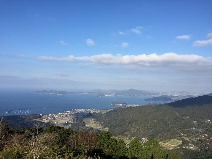十防山 山頂からの景色