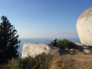 十防山山頂の雰囲気