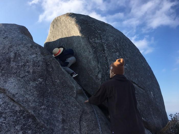 十防山 坊主岩